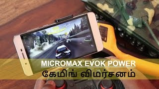 Micromax Evok Power Gaming Review with Heating Test in Tamil | Tech Tamizha