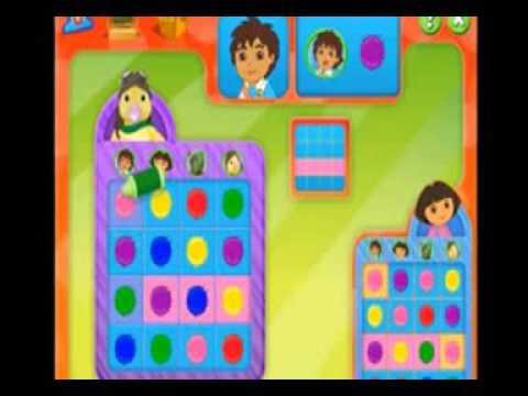 Nick Jr Bingo Featuring Dora Diego And More Part 2 OK