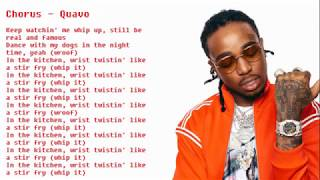 Migos - Stir Fry (CLEAN and with lyrics)