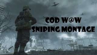 Call of Duty 5 : World at War Sniping montage (PC)