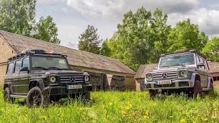 Adventure travel with the G-Class and Mike Horn – Part 1 - Mercedes-Benz original