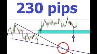 فوركس : كيف حققت 230 نقطة بإستخدام طريقة بسيطة جدا صفقة ( الباوند نيوزلاندي ) GBPNZD
