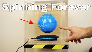 Will a Levitating Earth Spin Forever in a Vacuum Chamber? The Earth in Space Experiment