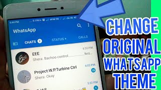 Change Original WhatsApp theme without any APP | only for Redmi devices