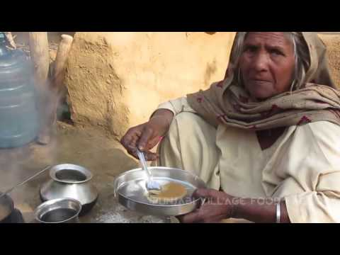 (Kada Prashad) Aate ka Halwa✔ My Grandma cooking in my Village | Punjabi Village Food Factory