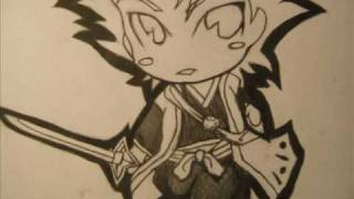 How to Draw Chibi Hitsugaya Toshiro