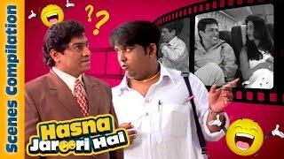 Hasna Zaroori Hai – Bollywood Best Comedy Scenes Ever - Johnny Lever - Paresh Rawal - Govinda