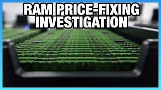 HW News: RAM Price Fixing Investigation, 5GB 1060