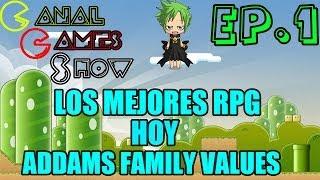Los Mejores Rpg | Ep.1 | Hoy Addams Family Values | SNES |