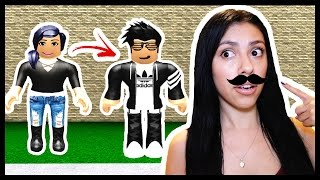 TURNING INTO A BOY in Roblox! - Boys and Girls Dance Club