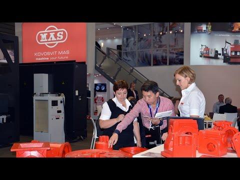 KOVOSVIT MAS na veletrhu MSV 2015, videoklip