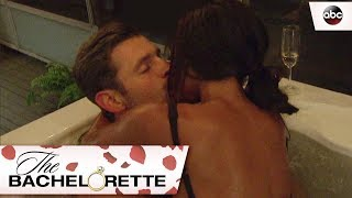 Rachel and Peter Spend Time in the Hot Tub- The Bachelorette 13x5