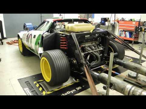 Lancia Stratos Group IV Replica Dyno Run.