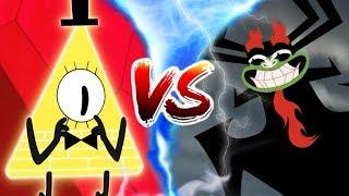 Bill Cipher vs. Aku - Toon Battle