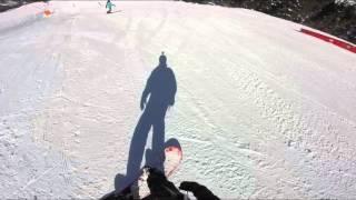 Just some white, un po' di bianco. Snowboard in Chiese Val Malengo.
