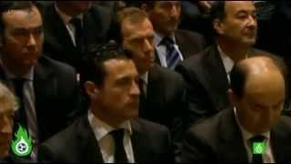 Messi Llora en el funeral de Tito Vilanova   Misa Funeral