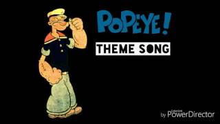 Popeye The Sailor Theme Song Lyrics