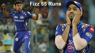 মুস্তাফিজের ৪ ওভারে ৫৫ রান একি বললেন রোহিত শর্মা.mustafizur rahman rohit sharma ipl mumbai indians