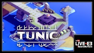Zelda + Dark Souls + Cuteness = TUNIC! - YouTube Live at E3