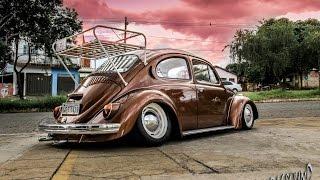 Vw Fusca 1974 Aircooled - Bagged Bug's Brazil   Beetle  Suspensão a Ar #MadeInHouse  CharlesoundCar