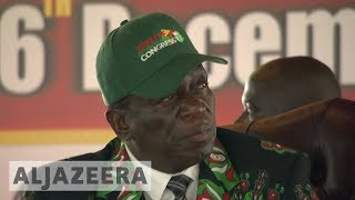Emmerson Mnangagwa addresses party congress