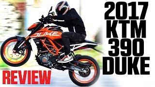 2017 KTM 390 Duke Review