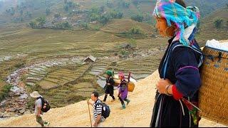 Travel - 2010 Uncut trekking Video, Black Hmong Sapa Village. edited in HD 34/6 (HD)