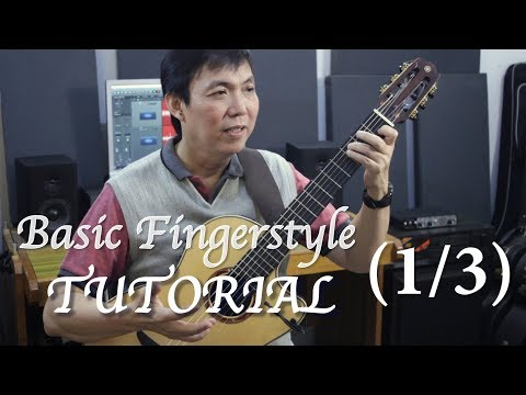 Fingerstyle Tutorial (13) - RIGHT Hand Basic