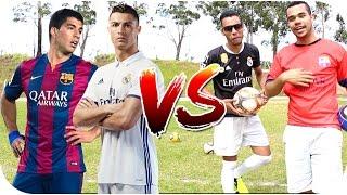 DESAFIO CRISTIANO RONALDO VS SUÁREZ ‹ Quem vencerá ›