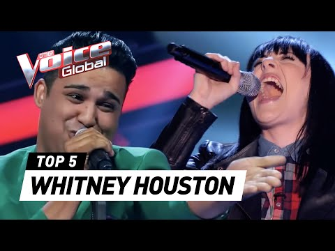 BEST WHITNEY HOUSTON Blind Auditions on The Voice