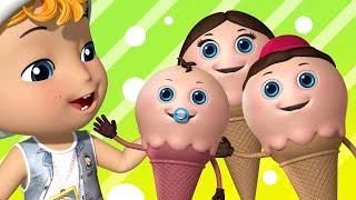 Ice Cream Finger Family | Finger Family Songs | Infobells