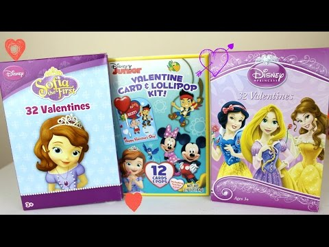 Dulces Regalos y Tarjetas de San Valentin Sofia the First Minnie Mickey Mouse Jake y Los Piratas