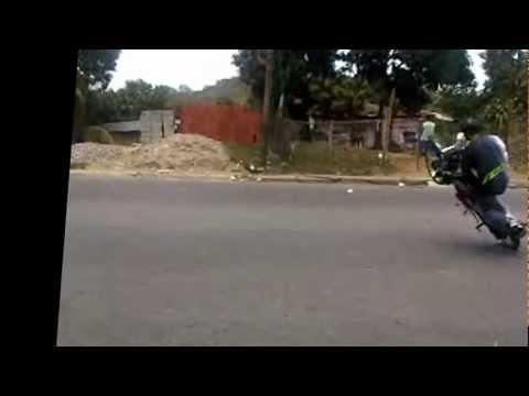 moto pirueta extrema en santa teresa 2012 Junior Pirueta