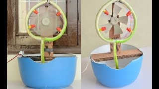 How to Make Mist Air Cooler at Home - Easy Way