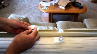 Repairing Levelor cordless cellular shades