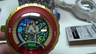 Yo-Kai Watch 2 Japanese medal unboxing with QR codes
