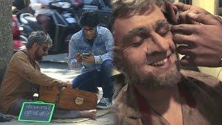 Sonu Nigam Found Begging Outside A Mumbai Theatre !