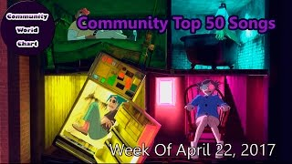Community Top 50 Songs - Week Of April 23, 2017