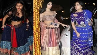Who rocked the lehenga better?  Khushi Kapoor, Suhana Khan or Sara Ali