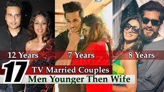 Younger Husband Older Wife - 17 Indian TV Couples | Man Younger Then Wife | Unbelievable Age Gaps |