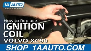 How To Replace Ignition Coil 03-12 Volvo XC90 2.5T