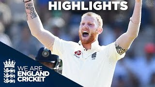 England Secure Test And Series Win | England v India 4th Test Day 4 2018 - Highlights