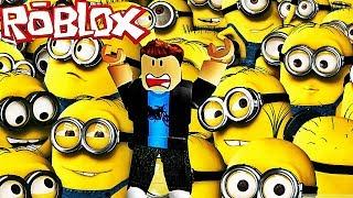JE DOIS ÉCHAPPER AUX MINIONS ! | Roblox !
