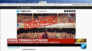 Paris attacks: false information and rumors spread throughout social media