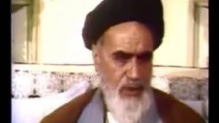نمونه ای ازسخنرانی تحریک آمیز خمینی و زمینه سازی برای جنگ با عراق