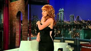 David Letterman   Kathy Griffin Undressed