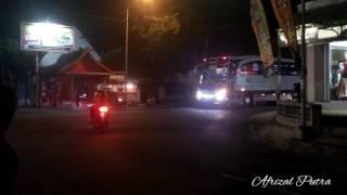 Perang klakson telolet dan strobo 5 unit Purnayasa