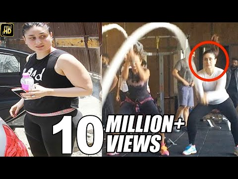 Xxx Mp4 Kareena Kapoor Hard Workout In Gym For Weight Loss 3gp Sex