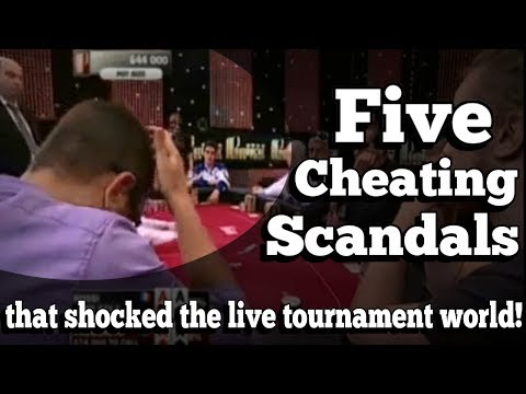 Xxx Mp4 The Five Cheating Scandals That Shocked The Live Tournament World 3gp Sex