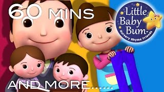 No Monsters Song | Plus Lots More Nursery Rhymes | 60 Minutes Compilation from LittleBabyBum!